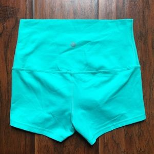 Lululemon Athletic Stretchy Shorts Foldable Waist